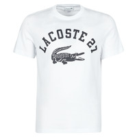 Clothing Men Short-sleeved t-shirts Lacoste GHOU White