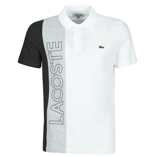 Clothing Men Short-sleeved polo shirts Lacoste POLO REGULAR FIT YH9852 Multicolour