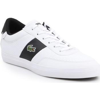 Shoes Men Low top trainers Lacoste Court-Master 119 2 CMA 7-37CMA0012147 white, black