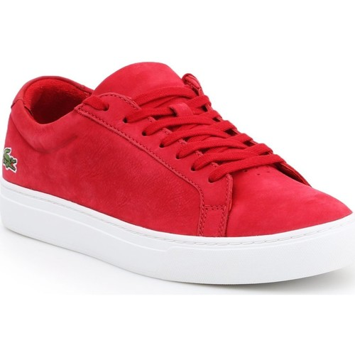 Shoes Men Low top trainers Lacoste L.12.12. 216 1 CAM 7-31CAM0138047 red