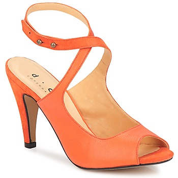 Shoes Women Sandals D.Co Copenhagen MARISSA Orange
