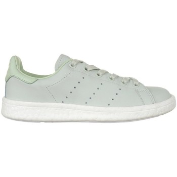 Shoes Women Low top trainers adidas Originals Stan Smith Boost Green