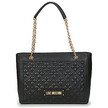 Bags Women Shopping Bags / Baskets Love Moschino JC4006PP1C Black