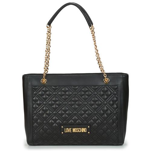 Bags Women Shopping Bags / Baskets Love Moschino JC4006PP1C Black