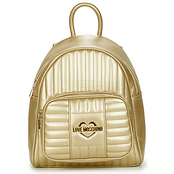 Bags Women Rucksacks Love Moschino JC4071PP1C Gold