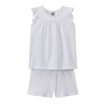 Clothing Girl Sleepsuits Petit Bateau FRIDGET Multicolour