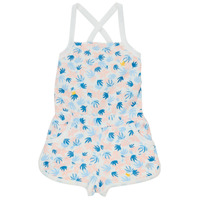 Clothing Girl Jumpsuits / Dungarees Petit Bateau MADDY Multicolour