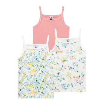 Clothing Girl Tops / Sleeveless T-shirts Petit Bateau JOPIL Multicolour