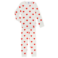 Clothing Girl Sleepsuits Petit Bateau MISON Multicolour