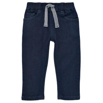 Clothing Boy Slim jeans Petit Bateau MILET Blue