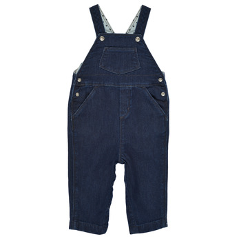 Clothing Boy Jumpsuits / Dungarees Petit Bateau MILIBERT Blue