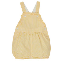 Clothing Girl Jumpsuits / Dungarees Petit Bateau MERINE Yellow