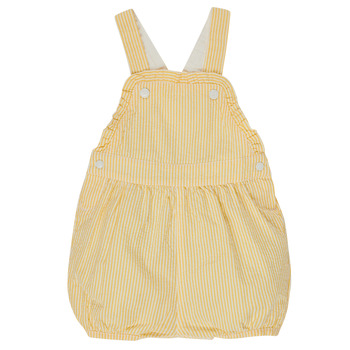 Clothing Girl Jumpsuits / Dungarees Petit Bateau MERINE Yellow