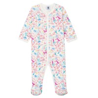 Clothing Girl Sleepsuits Petit Bateau MOHANA Multicolour