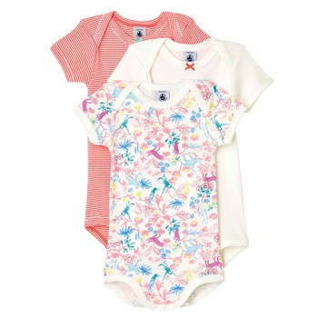 Clothing Girl Sleepsuits Petit Bateau 59909-00 Multicolour