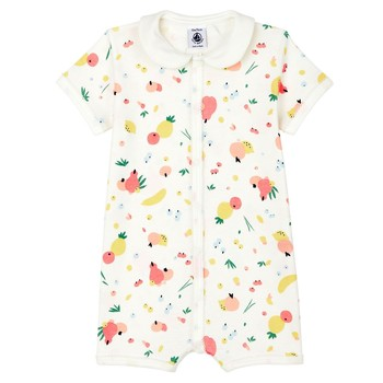 Clothing Girl Sleepsuits Petit Bateau MODELA Multicolour