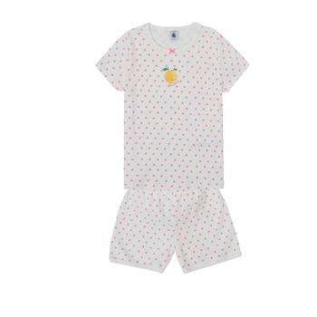 Clothing Girl Sleepsuits Petit Bateau MASSIMA Multicolour