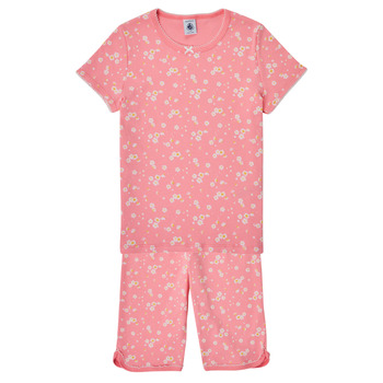 Clothing Girl Sleepsuits Petit Bateau MATEA Multicolour