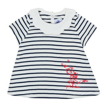Clothing Girl Short-sleeved t-shirts Petit Bateau MELIANE Multicolour