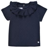 Clothing Girl Short-sleeved t-shirts Petit Bateau MELISSA Marine