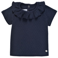 Clothing Girl Short-sleeved t-shirts Petit Bateau MELISSA Marine