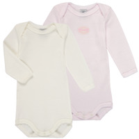 Clothing Girl Sleepsuits Petit Bateau A00AS-00 Multicolour