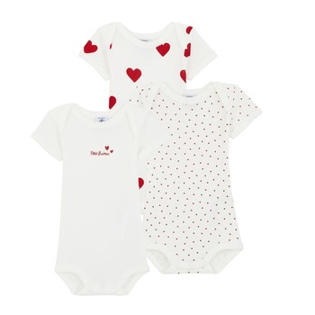 Clothing Girl Sleepsuits Petit Bateau A00BB-00 Multicolour