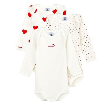 Clothing Girl Sleepsuits Petit Bateau A00BC-00 Multicolour
