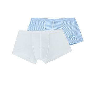 Underwear Boy Boxer shorts Petit Bateau A00O7-00 Multicolour