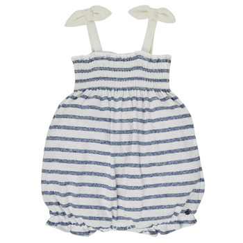 Clothing Girl Jumpsuits / Dungarees Petit Bateau MILLY Multicolour