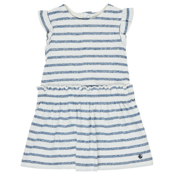 Clothing Girl Short Dresses Petit Bateau MILANAIS Multicolour