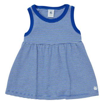 Clothing Girl Short Dresses Petit Bateau MEMBO Multicolour