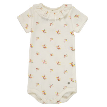 Clothing Girl Sleepsuits Petit Bateau MEZZA Multicolour