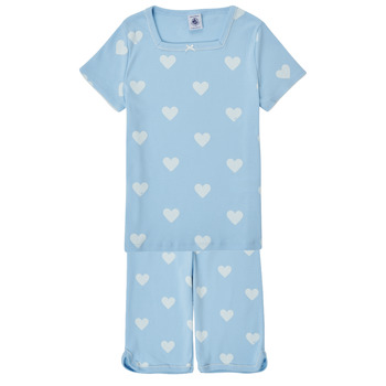 Clothing Girl Sleepsuits Petit Bateau MASCARET Multicolour