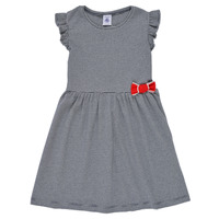 Clothing Girl Short Dresses Petit Bateau MAMANDE Multicolour