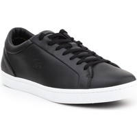 Shoes Men Low top trainers Lacoste Straightset 316 1 CAM 7-32CAM0043024 black
