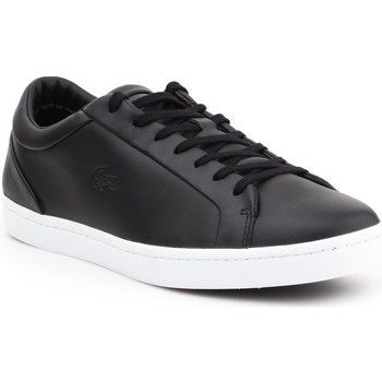 Shoes Men Low top trainers Lacoste Straightset 316 1 CAM 7-32CAM0043024 black
