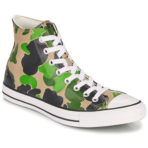 Shoes Men Hi top trainers Converse CHUCK TAYLOR ALL STAR ARCHIVE PRINT  HI Camouflage