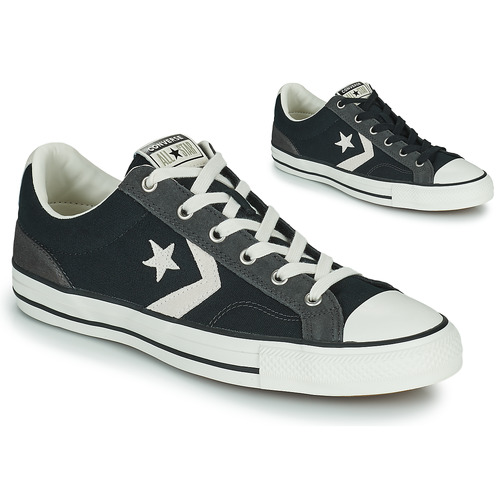 Shoes Low top trainers Converse STAR PLAYER ALT EXPLORATION OX Black / Grey