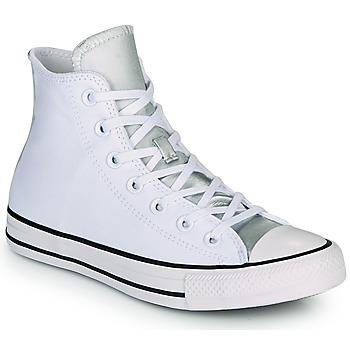 Shoes Women Hi top trainers Converse CHUCK TAYLOR ALL STAR ANODIZED METALS HI White