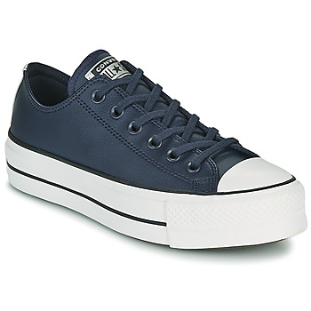 Shoes Women Low top trainers Converse CHUCK TAYLOR ALL STAR LIFT ANODIZED METALS OX Blue