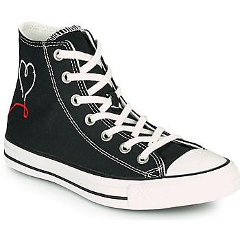 Shoes Women Hi top trainers Converse CHUCK TAYLOR ALL STAR VALENTINE'S DAY HI Black