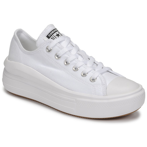 Shoes Women Low top trainers Converse CHUCK TAYLOR ALL STAR MOVE CANVAS COLOR OX White