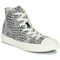 Shoes Girl Hi top trainers Converse CHUCK TAYLOR ALL STAR DIGITAL DAZE HI Black / White