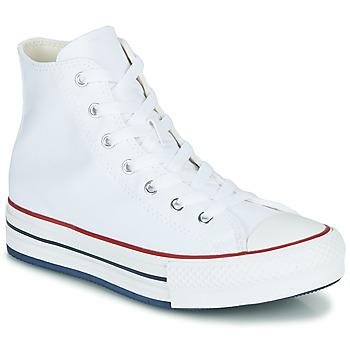 Shoes Girl Hi top trainers Converse CHUCK TAYLOR ALL STAR EVA LIFT CANVAS COLOR HI White