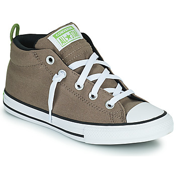 Shoes Children Hi top trainers Converse CHUCK TAYLOR ALL STAR STREET UTILITY LOOP MID Taupe
