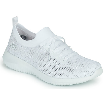 Shoes Women Low top trainers Skechers ULTRA FLEX WINDY SKY White