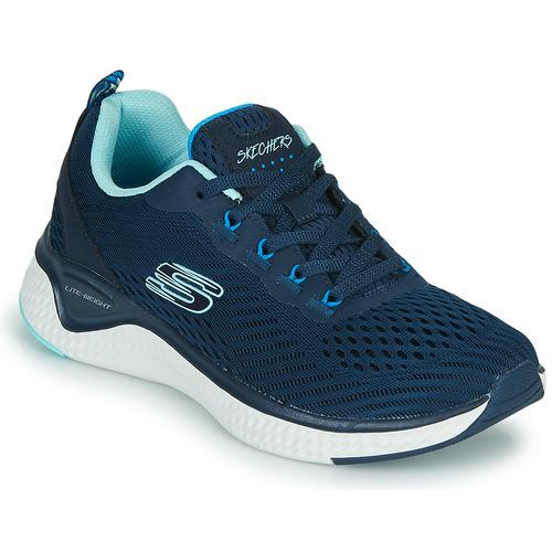 Shoes Women Fitness / Training Skechers SOLAR FUSE COSMIC VIEW Marine