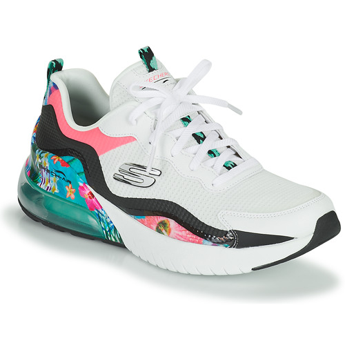 Shoes Women Low top trainers Skechers SKECH-AIR STRATUS White / Pink / Black