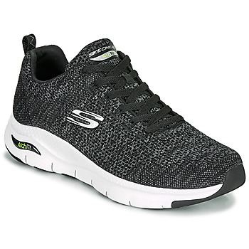 Shoes Men Low top trainers Skechers ARCH FIT Black